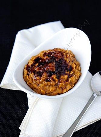 """""""Pumpkin Pie"""" Brûléed Oatmeal"""