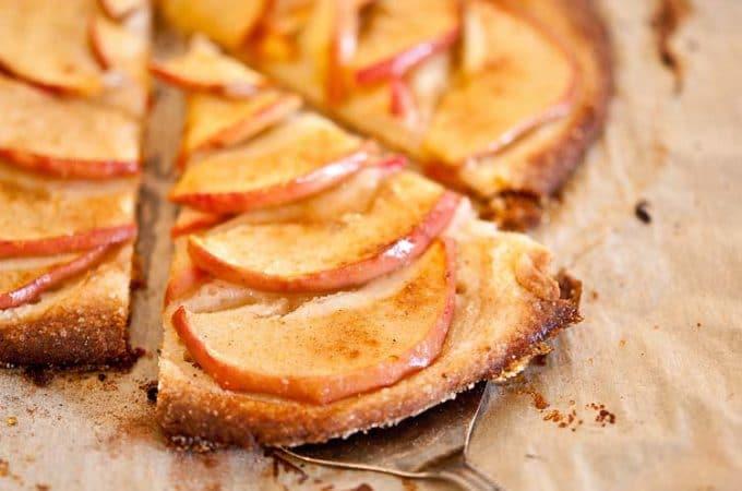 Thin Apple Tart