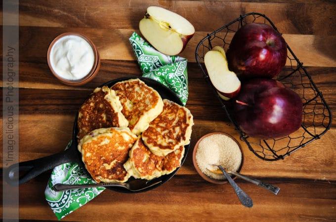 Ricotta-Apple Pancakes