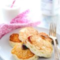 Kefir Yeast Pancakes - extra fluffy from yeast, slightly tangy from kefir. Unique recipe for pancakes. Perfect for a lazy weekend | Imagelicious