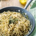 This Quick 15 Minute Blue Cheese and Pesto Pasta is delicious any time of the year. It's also perfect for busy weeknights. With only a handful of ingredients and no chopping or dicing it provides a punch of flavours without much effort   Imagelicious
