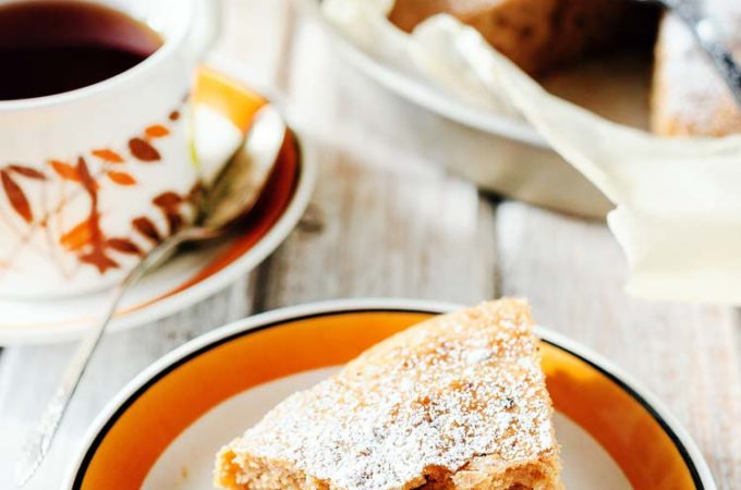 This Pumpkin Spice Vegan Cake is soft and pillowy, delicate and wonderfully spiced, no-one would ever guess that it is vegan | Imagelicious