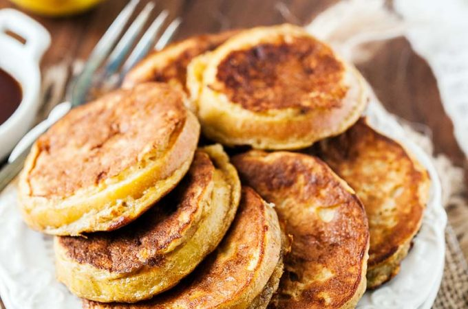 Gluten-free Apple-Banana Fritters