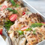 Hasselback Chicken with Goat Cheese and Dill is an easy and delicious way to cook chicken breast. It's perfect for a weeknight meal or a fancy dinner. Serve with salad, rice or even pasta with light cream sauce | Imagelicious