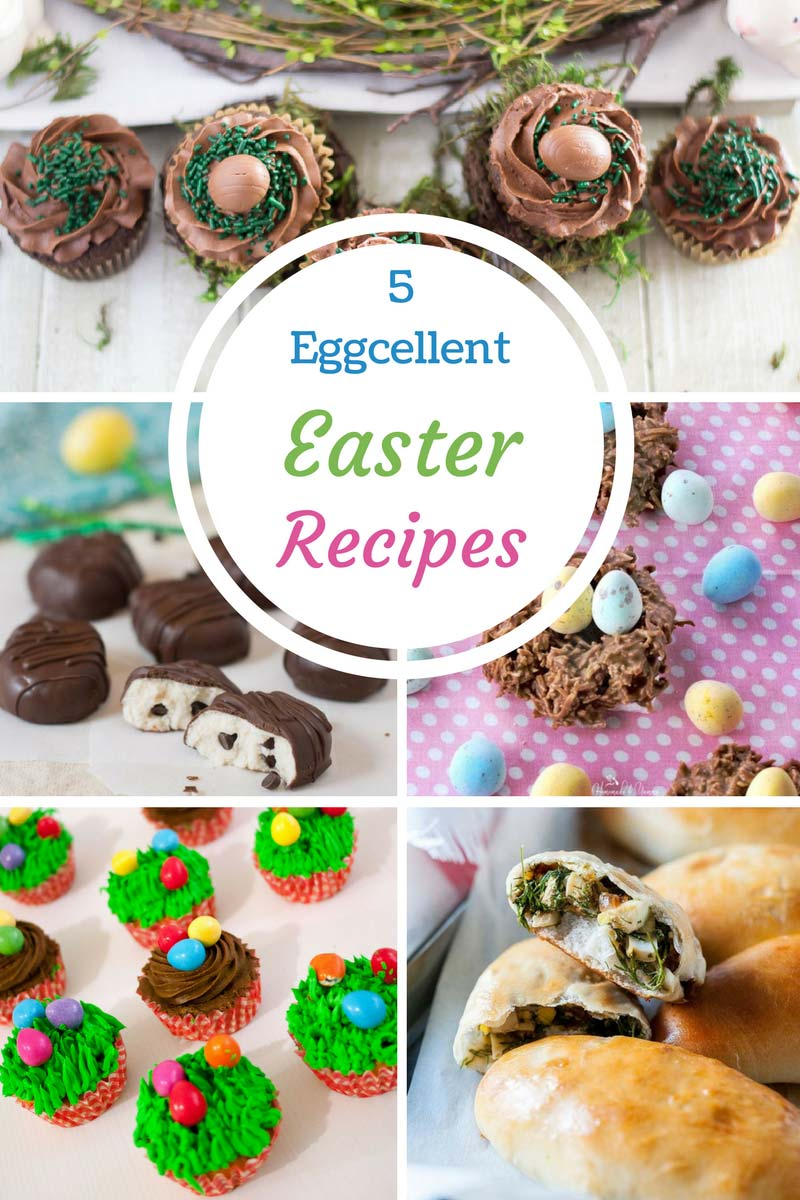 5 egg-cellent easter recipes: chocolate, candy and real eggs!