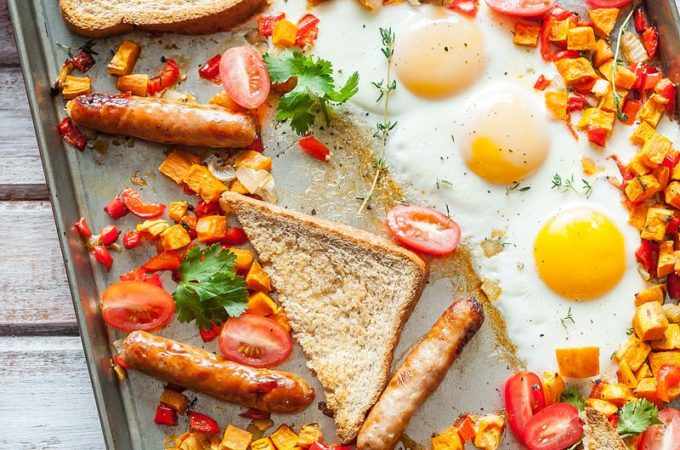 Easiest Full Sheet Pan Breakfast