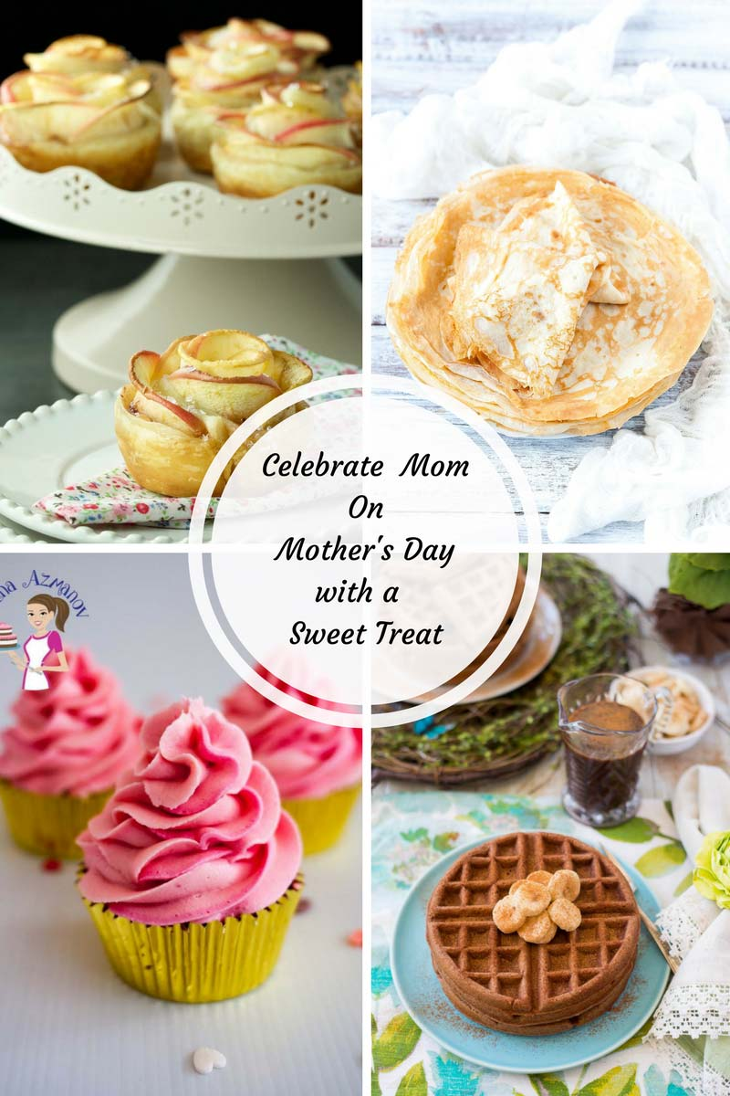 Sweet recipes for Mother's Day
