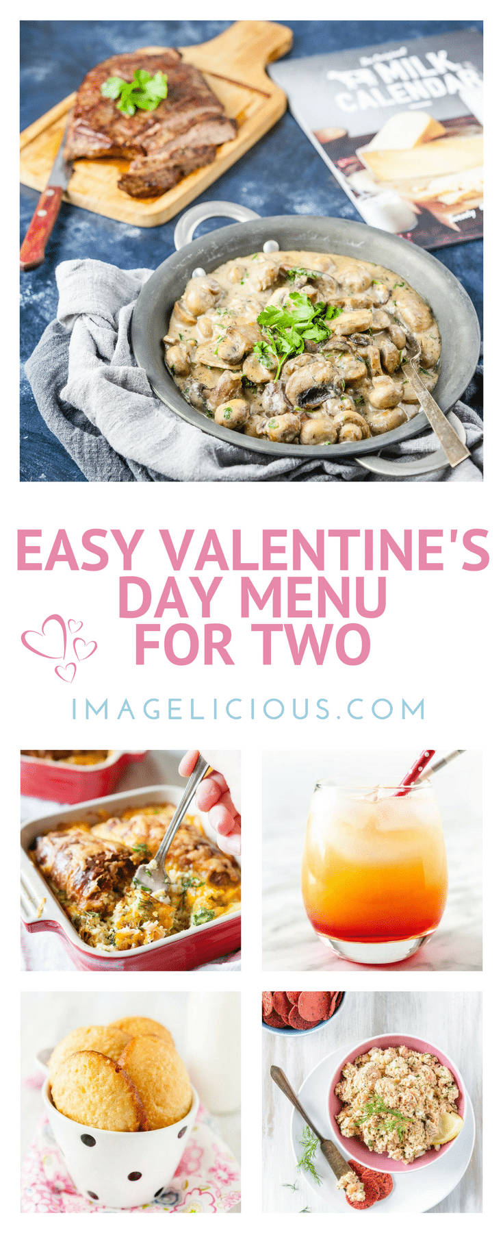Easy Valentines Day Menu For Two Imageliciouscom