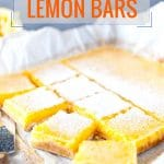 These Coconut Lemon Bars are sweet and tangy with a hint of tropical coconut. They are easy to make without as the lemon curd does not need to be cooked in advance. They look gorgeous and are a perfect addition to a cookie platter | imagelicious.com #SimplyCitrus #lemon #lemonbars #lemonsquares #coconut #dessert