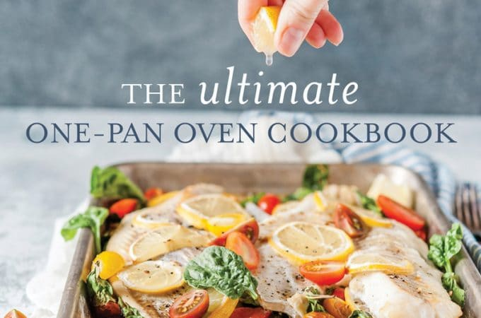 Cover of The Ultimate One-Pan Oven Cookbook by Julia Konovalova