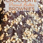 These No Bake Chocolate Peanut Butter Brownies are super easy to make. No bake, raw, vegan and gluten-free they are full of flavour. No-one will know that they are good for you with their intense chocolate and peanut butter taste | imagelicious.com #raw #nobake #chocolate #peanutbutter #brownies #ingredients