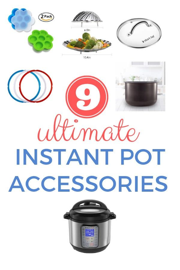 9 Ultimate Instant Pot Accessories You Need to Buy | Imagelicious.com #instantpot #giftguide #instantpotaccessories