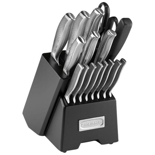 Cuisinart knife block set