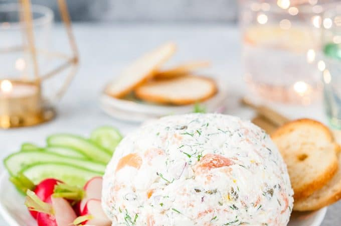 Affordable Smoked Salmon Cheese Ball