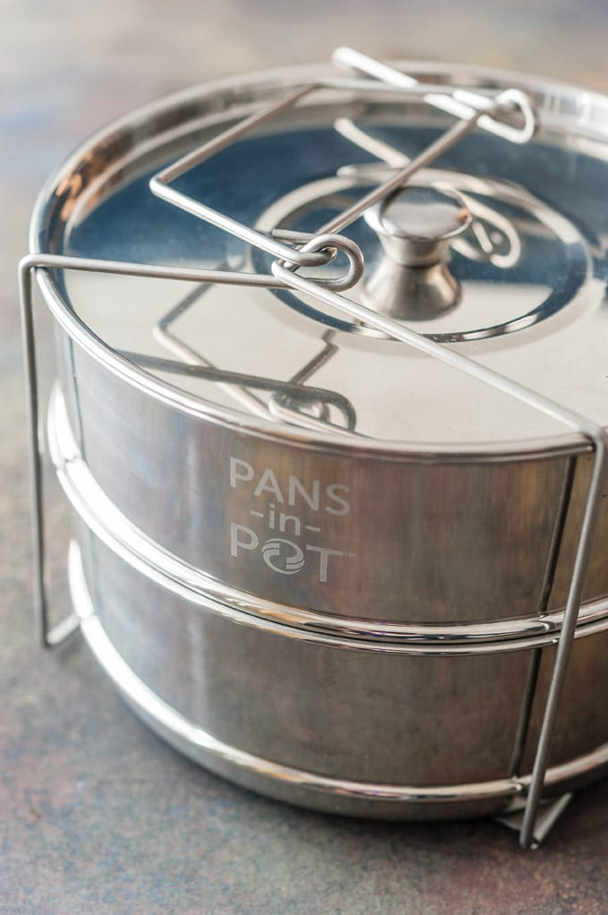 Stackable insert for Instant Pot