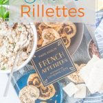 Sardine Rillettes are an amazing and really easy appetizer that comes together in under 10 minutes. Perfect to serve for a party or a quick snack. No need for fancy ingredients, just a few pantry staples | #sardines #rillettes #appetizer