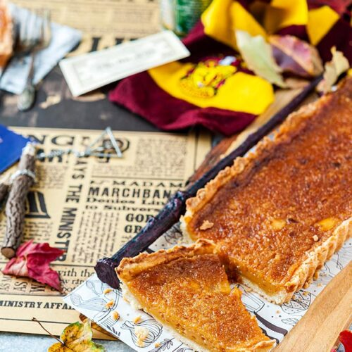 Harry Potter S Favourite Treacle Tart Imagelicious Com