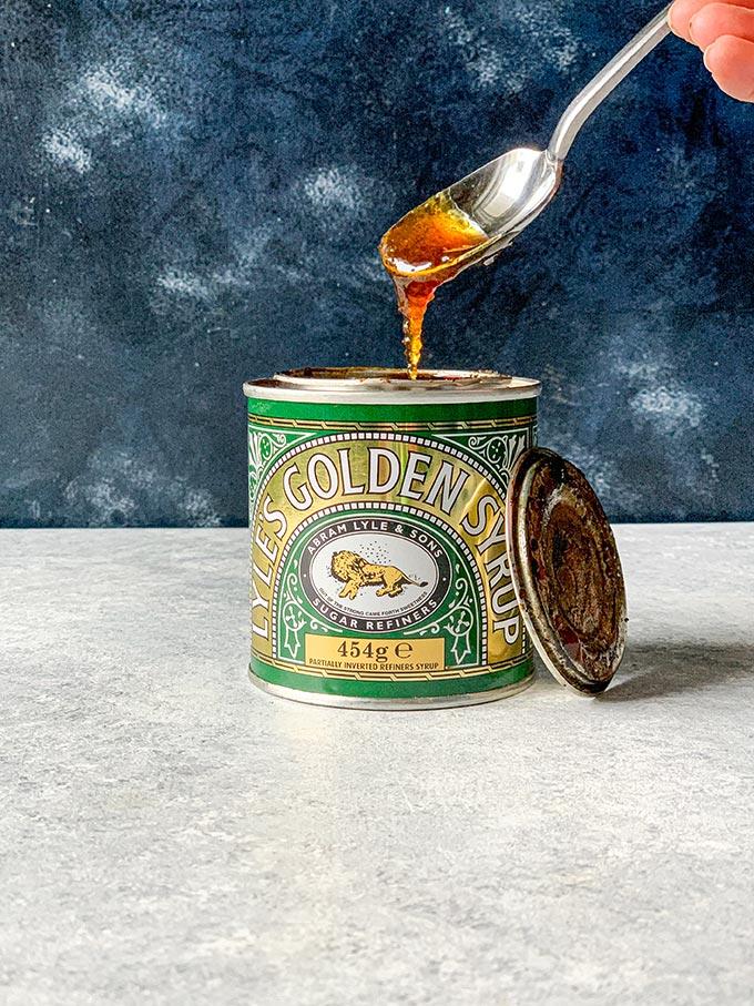 Jar of Golden Syrup.