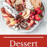 Dessert Board is a great way to serve desserts. It's easy to make, looks impressive, and requires no baking | imagelicious.com #dessertboard